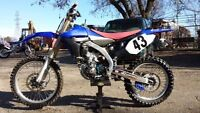 2011 YZ450F w/ownership and NEW PARTS