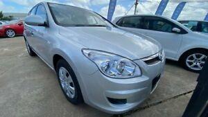 2010 Hyundai i30 FD MY10 SX Silver 5 Speed Manual Hatchback Maidstone Maribyrnong Area Preview