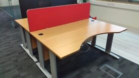 Office desks / dividers / drawers (Free - pickup only)