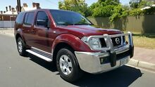 2006 Nissan Pathfinder R51 ST (4x4) Burgundy Blaze 5 Speed Automatic Wagon Medindie Walkerville Area Preview