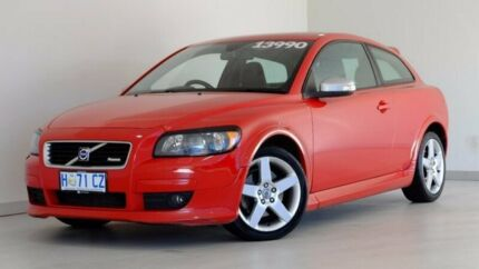 2009 Volvo C30 M Series MY09 T5 Red 5 Speed Sports Automatic Hatchback