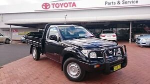 2013 Nissan Navara D40 MY13 RX (4x4) Black 6 Speed Manual Cab Chassis Dubbo Dubbo Area Preview