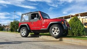 1998 Jeep Wrangler TJ Sport Red 5 Speed Manual Softtop Welshpool Canning Area Preview