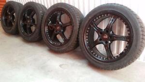 4 Pneus Bridgestone 19po sur Mags Momo! BMW