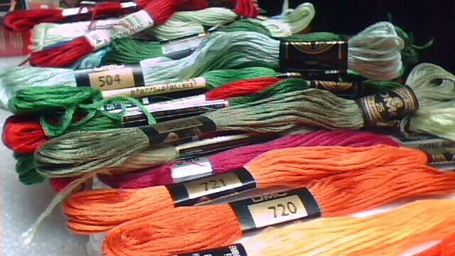 embroidery thread cross stitch etc with free shipping update