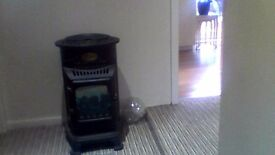beautiful calor gas stove heater