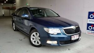 2012 Skoda Superb 3T MY12 Ambition DSG 103TDI Blue 6 Speed Sports Automatic Dual Clutch Sedan Virginia Brisbane North East Preview
