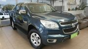 2016 Holden Colorado RG MY16 LTZ Crew Cab Blue 6 Speed Sports Automatic Utility Belconnen Belconnen Area Preview