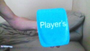 player's tip tray