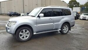 2008 Mitsubishi Pajero NS VR-X Silver 5 Speed Sports Automatic Wagon Lidcombe Auburn Area Preview
