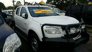 2013 Holden Colorado White Sports Automatic Utility Dandenong Greater Dandenong Preview