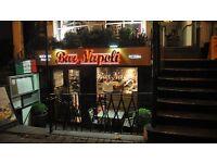 waiter/waitress . italian restaurent IMMEDIATE START