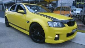 2011 Holden Commodore VE II SV6 Yellow 6 Speed Manual Sedan Homebush Strathfield Area Preview