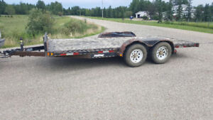 16-1/2 foot 10,000# Car Trailer $3,450