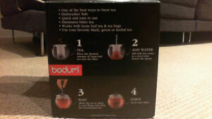 BRAND NEW Red Bodum Assam 34-Ounce Tea Press London Ontario image 2