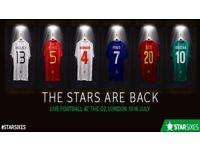 Star sixes 16th July, London 02 semi/ finals / 3 rd place tickets