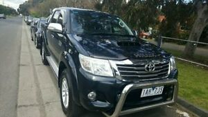 2013 Toyota Hilux Black Manual Utility Dandenong Greater Dandenong Preview