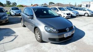 2011 Volkswagen Golf VI MY11 90TSI DSG Trendline Grey 7 Speed Sports Automatic Dual Clutch Hatchback St James Victoria Park Area Preview