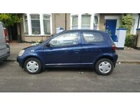 TOYOTA YARIS 1.0 GLS STARTS AND DRIVES GREAT MOT TILL APR NEXT YEAR LOW MILES ONLY 83K BARGAIN £495