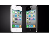 APPLE IPHONE 4S UNLOCKED MINT CONDITION COMES WITH WARRANTY & RECEIPT