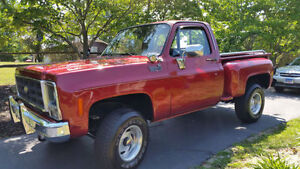 Looking for a 1975 - 1980 Chev/GMC Shortbox Stepside