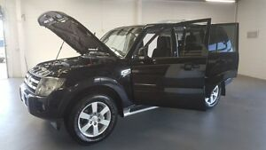 2007 Mitsubishi Pajero NS VR-X Black 5 Speed Sports Automatic Wagon Frankston Frankston Area Preview