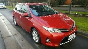 2013 Toyota Corolla Red Automatic Hatchback Dandenong Greater Dandenong Preview