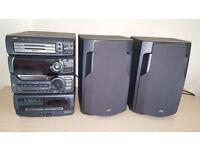JVC- MX-D601T Multi cd system.