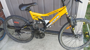 2 bikes bmx/ mountain bike