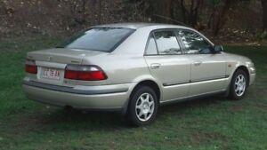 1998 Mazda 626 GF Classic Silver 4 Speed Automatic Sedan