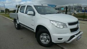 2014 Holden Colorado RG MY14 LX Crew Cab 4x2 Summit White 6 Speed Sports Automatic Cab Chassis Bassendean Bassendean Area Preview