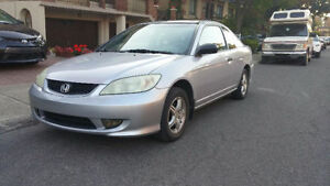 2004 Honda Civic CARPROOF CLEAN Coupe (2 door)