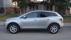 2007 Mazda CX-7 GT with michelin x ice winter tires on wheels