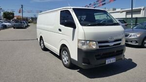 2011 Toyota Hiace KDH201R MY11 Upgrade LWB White Solid 5 Speed Manual Van Maddington Gosnells Area Preview
