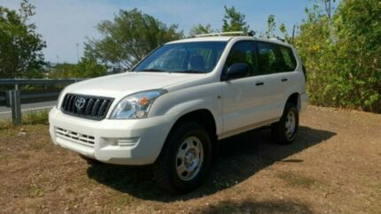 2003 Toyota GX Prado 4x4 - 8 Seater with Warranty Bungalow Cairns City Preview