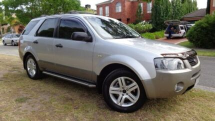 2006 Ford Territory Silver Sports Automatic Wagon Moorabbin Kingston Area Preview