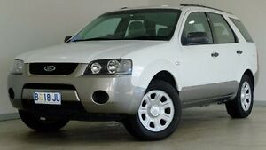 2007 Ford Territory SY TX White 4 Speed Sports Automatic Wagon Hobart CBD Hobart City Preview