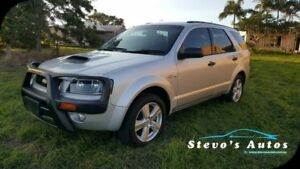 2008 Ford Territory SY Turbo Silver 6 Speed Sports Automatic Wagon