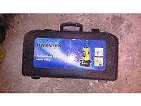 Inventek Professional Self levelling laser level, brand new and unused in carry case
