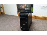 Killer i5 Quad 3rd Gen 64 bit Gaming PC, NEW GeForce GTX 1050 2GB 8K Display, FREE Gaming Bundle!