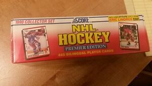 Reduced price: Lot of Hockey Cards, 1990 Upper Deck & Score