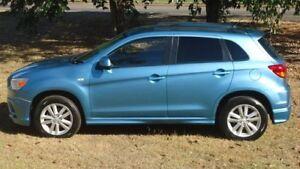 2012 Mitsubishi ASX XA MY12 2WD Blue 5 Speed Manual Wagon