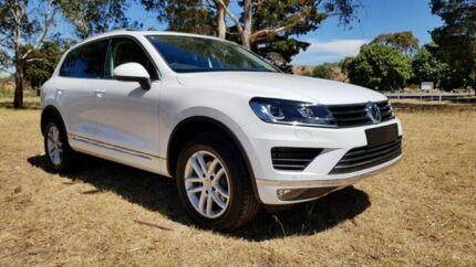 2017 Volkswagen Touareg 7P MY17 150TDI Tiptronic 4MOTION Element Pure White 8 Speed Sports Automatic Tanunda Barossa Area Preview