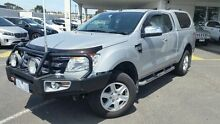2014 Ford Ranger PX XLT Super Cab Highlight Silver 6 Speed Sports Automatic Utility Mornington Mornington Peninsula Preview