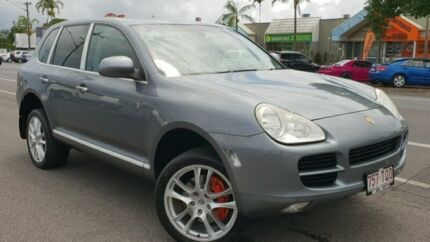 2005 Porsche Cayenne 9PA MY06 S Grey 6 Speed Sports Automatic Wagon Bungalow Cairns City Preview