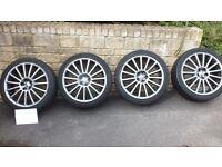 For Sale 4 Genuine VW GOLF R32 MK4 OZ Alloys Wheels.