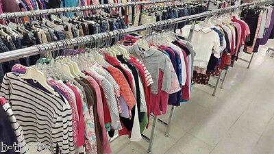 200 PC MIXED CHILDREN  Wholesale Bulk Used Clothing Lot SZ NB-16 FMCO