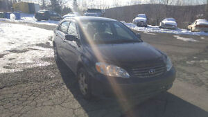 FOR QUICK SALE ! COROLLA WITH 18 MONTH MVI AND NEW TIRES
