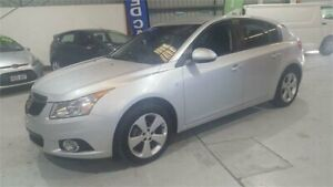 2013 Holden Cruze JH Series II MY13 Equipe Silver Manual Hatchback Mawson Lakes Salisbury Area Preview