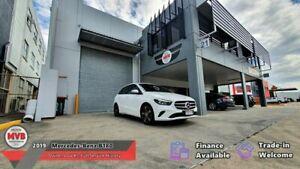 2019 Mercedes-Benz B180 W247 MY19.5 White 7 Speed Auto Dual Clutch Hatchback Eagle Farm Brisbane North East Preview